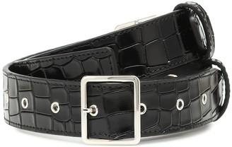 Altuzarra Croc-effect leather belt