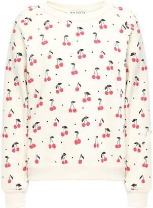 Wildfox Couture Cotton-blend Fleece Sweatshirt
