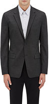 Theory Men's Simons Tech-Suiting Two-Button Sportcoat-Dark Grey