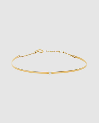 Luna Rae Solid Gold - Horizon Bangle