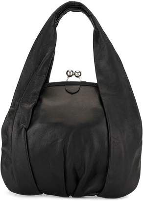 Y's clasp fastened tote bag