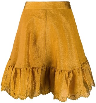 Stine Goya Toy flounce hem skirt