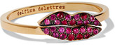 Delfina Delettrez 18-karat Gold Ruby Ring - 53