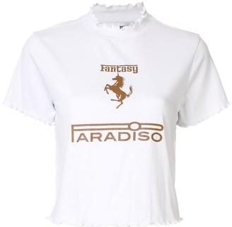 Ground Zero Fantasy Paradiso print T-shirt