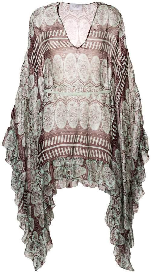 Giambattista Valli asymmetric printed dress