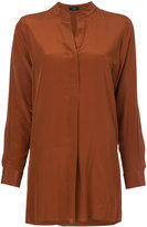 Joseph band collar shirt - women - Silk - 36