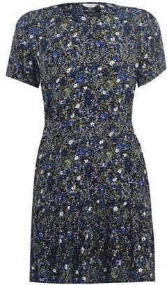 Jack Wills Launders Ditsy V-Neck Dress