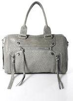 Botkier Gray Leather Satchel Handbag Size Medium