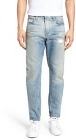 Current/Elliott Men's Distressed Taper Fit Jeans
