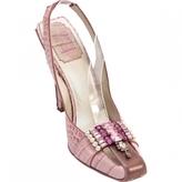 Christian Dior Crocodile sandal