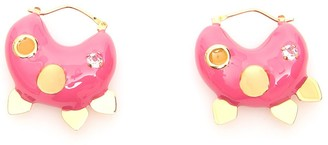 Marni Embellished Hoop Earrings