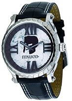 Colosseum Italico Men's ITCS03-F White Marbleized Dial Leather Watch