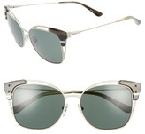Tory Burch Women's 56Mm Cat Eye Sunglasses - Ivory