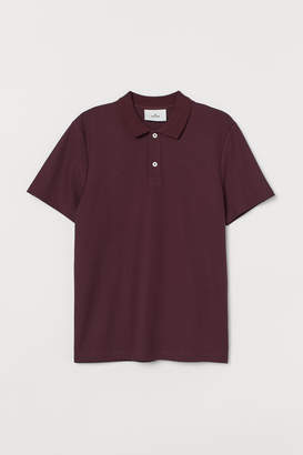 H&M Cotton Polo Shirt - Red