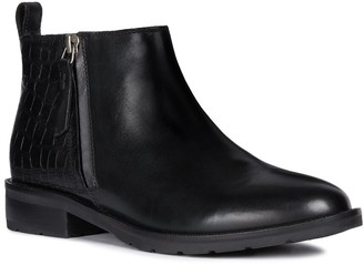 Geox Bettanie Leather Ankle Boot
