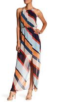 Amy Byer A. Byer Striped Maxi Dress