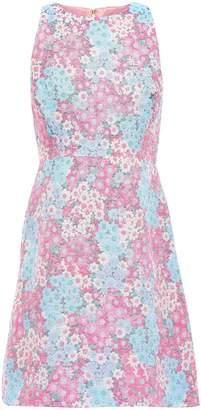 Kate Spade Cotton-blend Jacquard Mini Dress