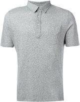 Officine Generale short sleeve polo shirt - men - Cotton - S