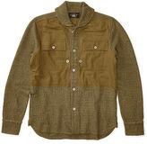 Ralph Lauren RRL Wool-Linen Shawl Workshirt