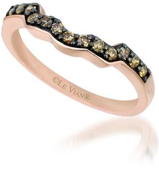 LeVian Le Vian 14K Strawberry Gold 0.26 Ct. Tw. Diamond Ring