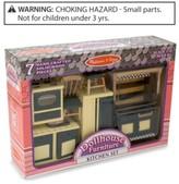 Melissa & Doug Kids' Toy Dollhouse Furniture Kitchen Set
