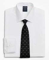 Brooks Brothers Stretch Big & Tall Dress Shirt, Non-Iron Poplin Ainsley Collar