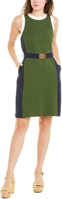 Tory Burch Belted Sheath Dress