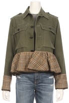 HARVEY FAIRCLOTH Peplum Old Field Jacket