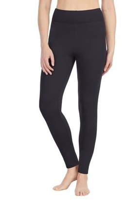 Cuddl Duds ClimateRight by Women's and Women's Plus Thermal Guard Long Underwear Legging