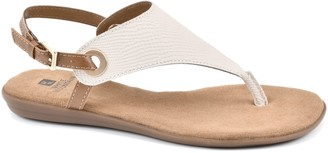 White Mountain Adjustable Thong Sandals - London