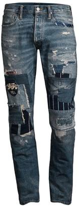 Polo Ralph Lauren Varick Patchwork Jeans