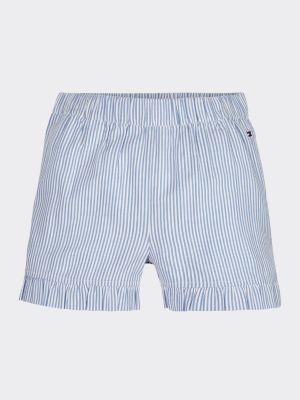 Tommy Hilfiger Ruffle Ithaca Stripe Shorts