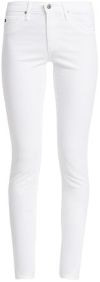 AG Jeans Prima Sateen Mid-Rise Cigarette Pants