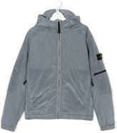 Stone Island Junior teen hooded jacket