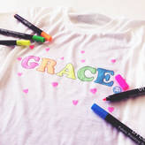 Hurley Sarah Personalised Children's Make Your Own Colour In T Shirt