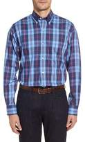 Tailorbyrd Men's Big & Tall Delcambre Plaid Twill Sport Shirt
