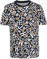Moschino all-over logo print T-shirt