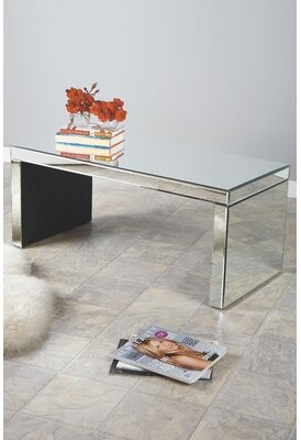 Statements By J Bridget Mirrored Coffee Table