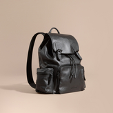 Burberry The Large Rucksack in Water-repellent Leather