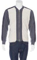 Dries Van Noten Terry Cloth Panel Jacket