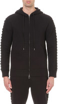 Helmut Lang Lace-up sleeves cotton-blend hoody