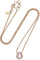 Amrapali 18-karat Gold, Sapphire And Diamond Necklace - one size