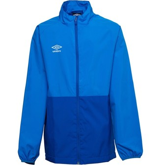Umbro Junior Boys Training Shower Jacket French Blue/TW Royal