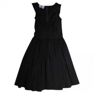 Prada Black Cotton Dresses