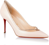 Christian Louboutin Princess 85 glitter pink pump