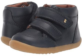Bobux Step Up Timber Boot (Infant/Toddler) (Navy) Kid's Shoes