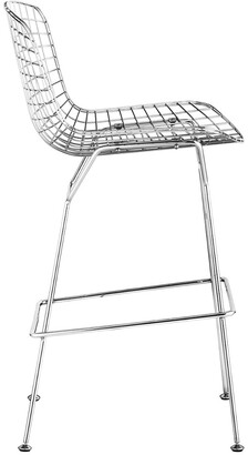 ZUO Set Of 2 Wire Bar Chairs