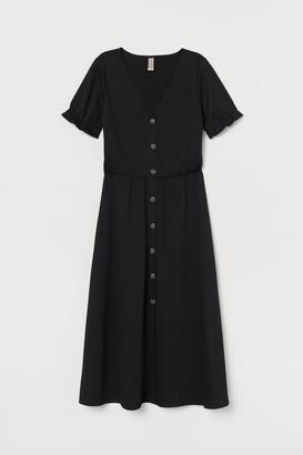 H&M Crinkled Jersey Dress