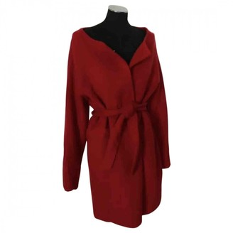 Non Signã© / Unsigned Oversize Red Wool Coats