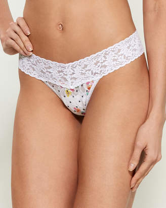 Hanky Panky Low-Rise Printed Thong
